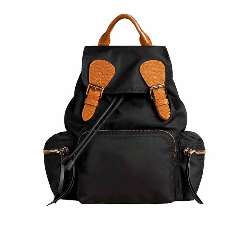 Nylon Backpack for Women Men Casual Brand Designer High Quality School Bags for Teenage Girls and