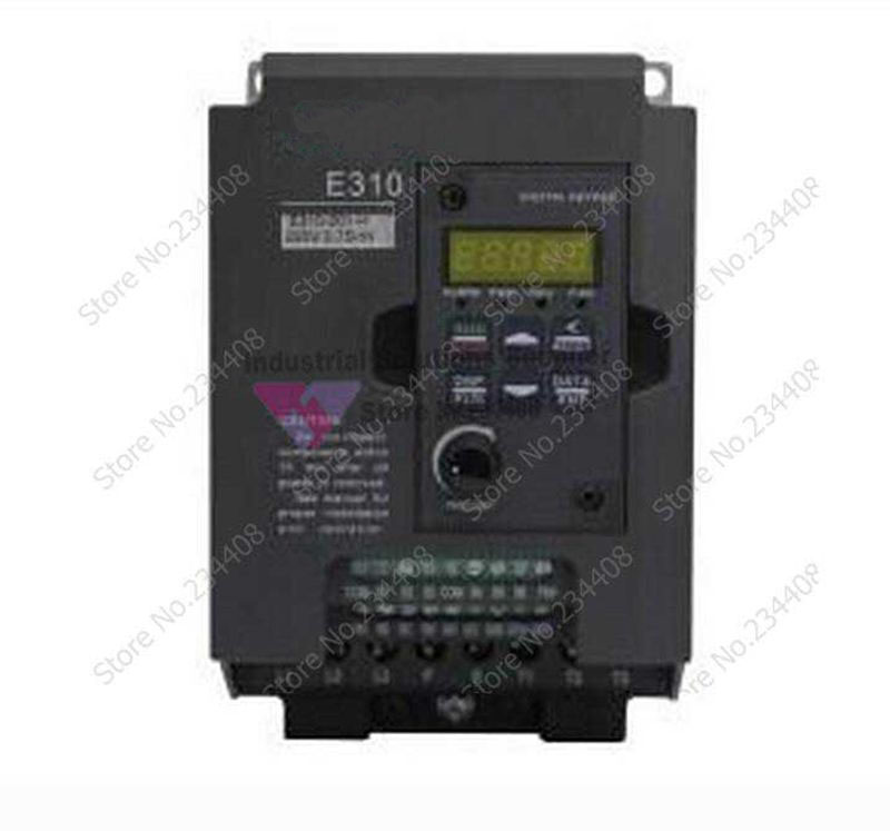 Input 3Ph 380V Output 3Ph Frequency Converter E310 Series E310-402-H3 380~480V 3.8A 1.5KW 2HP 0.01~400Hz 3-phase New input 3ph 380v output 3ph delta inverter vfd015b43a function 0 480v 4 2a 0 1 400hz 1 5kw 2hp new original