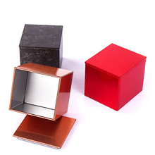12pcs 30ml Tin Box Metal Sealed Jars Jewelry Organizer Box Coffee Tea Candy Gift Packaging Boxes Square Storage Box Cans 6*5*5cm ttlife colorful mini tinplate metal box sealed jar packing boxes jewelry candy box small storage cans coin earrings gift box new