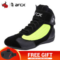 ARCX Motorcycle Boots Men Women Moto Boots Casual Motorbike Biker Chopper Cruiser Touring Ankle Shoes Motorcycle Shoes EU36 45