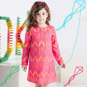Girls Casual Dress 2019 Autumn New Style Baby Girls Hollow Out Dress Children Clothes
