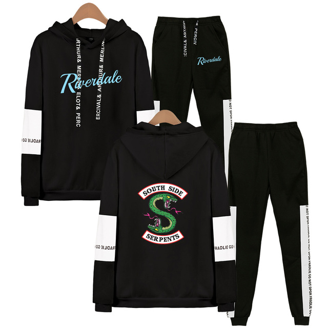 SET RIVERDALE SOUTH SIDE SERPENTS HOODIE + TROUSERS (21 VARIAN)