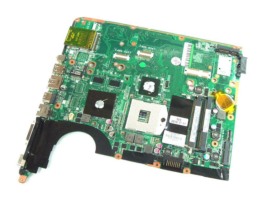 Free Shipping laptop Motherboard 600816-001 for HP PAVILION DV6 DV6-2000 Notebook PC systemboard 100% tested original laptop free shipping motherboard 650800 001 for hp pavilion dv6 dv6 6000 hm65 hd6770 2g notebook pc system board tested