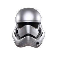 Star Wars Force מתעורר Stormtrooper קסדת מסכת PVC קסדת מלחמת כוכבים חייל לבן מסכת מסיבת ליל כל הקדושים קוספליי קסדה