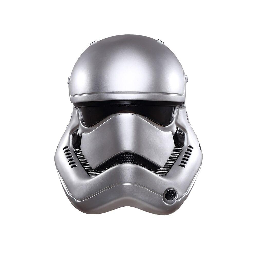 Casque homme Star Wars PVC masque fête Halloween Star Wars la Force réveille soldat blanc casque Cosplay casque Stormtrooper masque