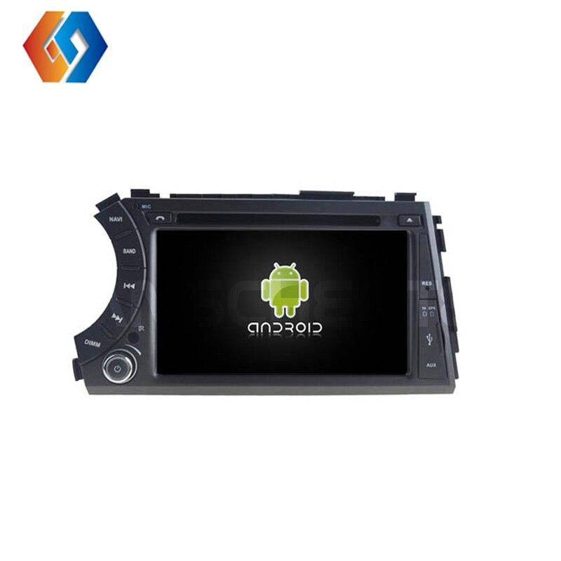 Autoradio 2 Din pour SSANGYONG Korando Action Cyron Actyon Sports avec Android 8 Octa Core DVD GPS Navigation intégré BT WiFi