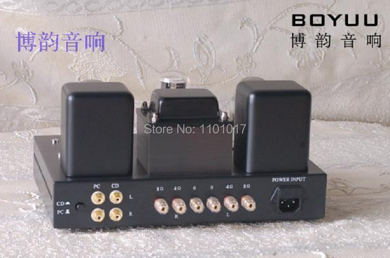 Boyuu BYA9 EL34 Rohr Amp ODER DIY Set HIFI EXQUIS Montiert oder Demontiert A9 Single-Ended Integraed Rohr Verstärker