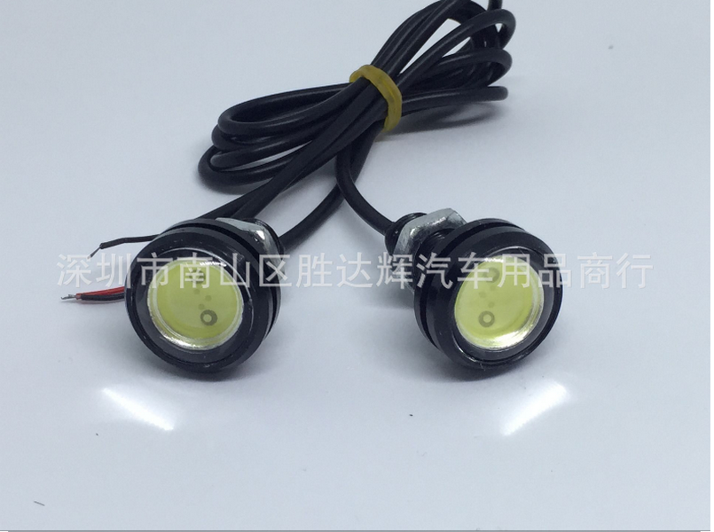 by DHL or Fedex 200pcs 23mm Eagle Eye Light Running Backup Car Motor motorcycle Led Parking