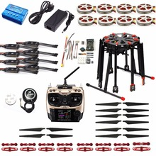 DIY  Drone Foldable GPS RC Racer Tarot X8 TL8X000 8-Axle Frame 350KV 40A PX4 32 Bits Flight Controller Radiolink AT9S TX&RX