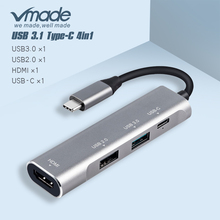 Thunderbolt 3 USB C Hub voor samsung dex Type c NAAR hdmi PD USB 3.0 2.0 4 k * 2 K/60 HZ Docking Station voor macbook schakelaar usb c hub