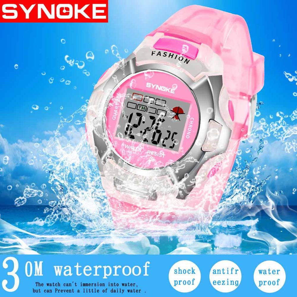 Children's Watch Luminous Waterproof Movement Boy Girl Universal Student Watch
