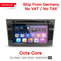Android 7 1 1 2 Din 7 Inch Car DVD Player For OPEL ASTRA Zafira Combo