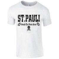 2017 Nowy St Pauli Smash Le Szumowiny T Koszula Piłkarz Ultra T Shirt De Projekt Fan męska 100% Bawełna T koszula