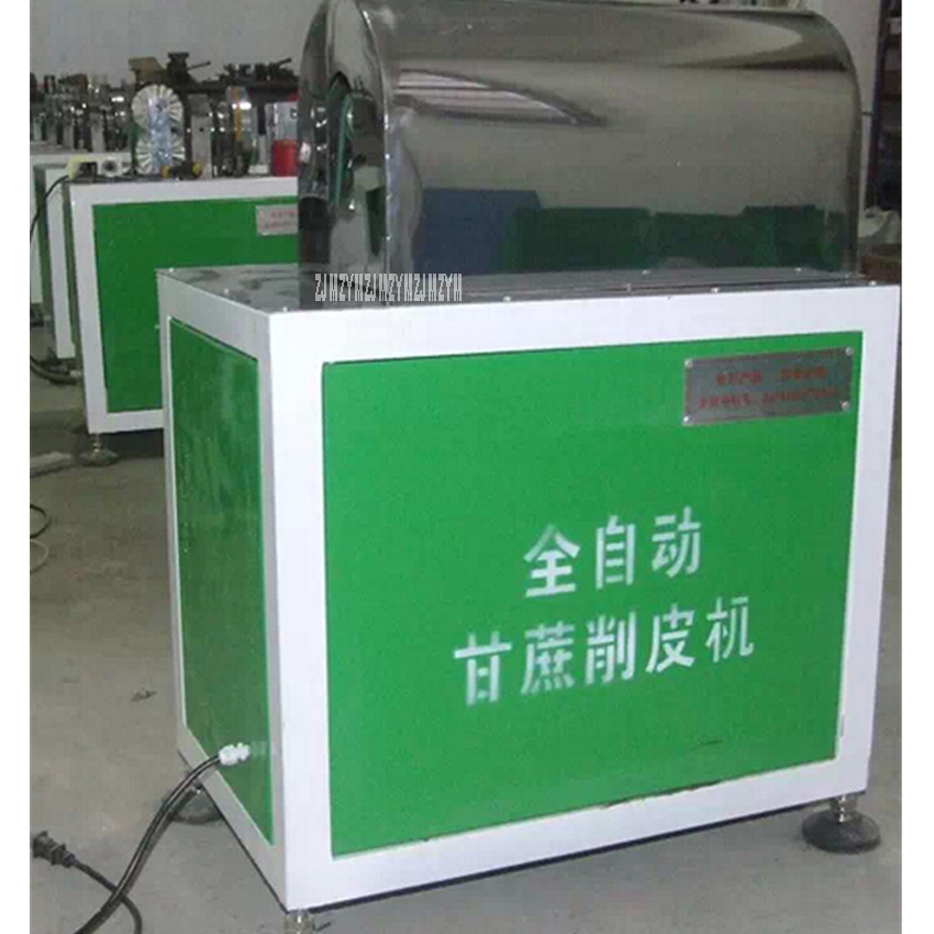 220V/50 Hz  Commercial Sugarcane Peeler machine Automatic stainless steel sugar cane peeling machine,cutting diameter 20-50mm stainless steel manual sugarcane juice machine sugar cane machine cane juice squeezer cane crusher