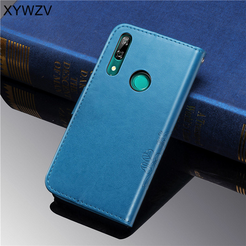 Image 3 - Huawei P Smart Z Case Soft Silicone Filp Wallet Shockproof Phone Case Card Holder Fundas For Huawei P Smart Z Cover P Smart Z-in Flip Cases from Cellphones & Telecommunications
