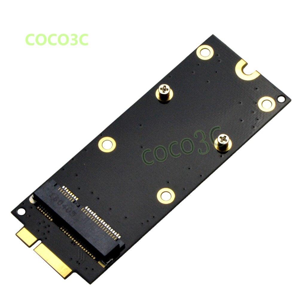 Ssd para 2020 Sata para 7 + 17 Msata Macbook Retina A1398 Mini Pinos Conversor Imac Mc975 Mc976 Me662 Me664 Me665 Pro A1425