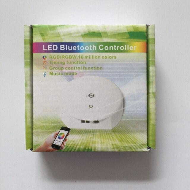 2 pcs UFO led Bluetooth controlador DC12 24 V Controlador RGBW Cronometragem Função, o Modo de Música, aplicar para IOS/Android