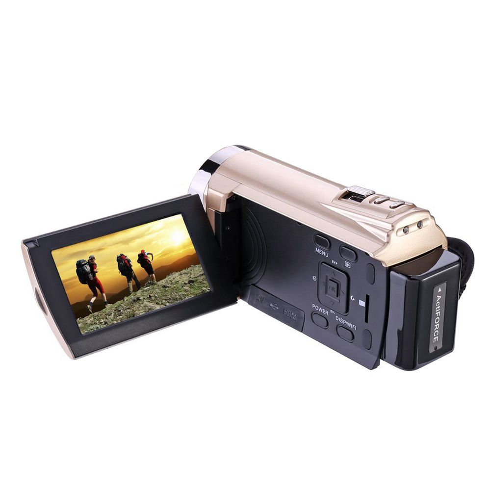 Camcorder HDV-5052 HDMI 1920x1080p Wifi FHD Digital Video Camera Infrared Night Vision 30FTPS Camcorder with Touchscreen,16 X я immersive digital art 2018 02 10t19 30
