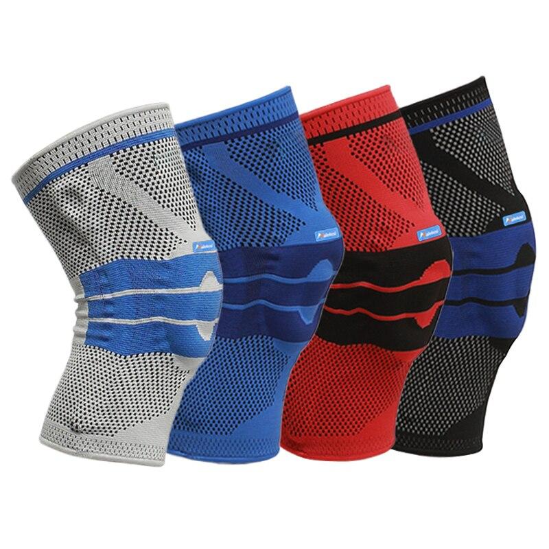 1 stück Hohe Elastische Knie Unterstützung Klammer Kneepad Einstellbare Patella Volleyball Knie Pads Basketball Sicherheit Schutz Strap Knie Protector