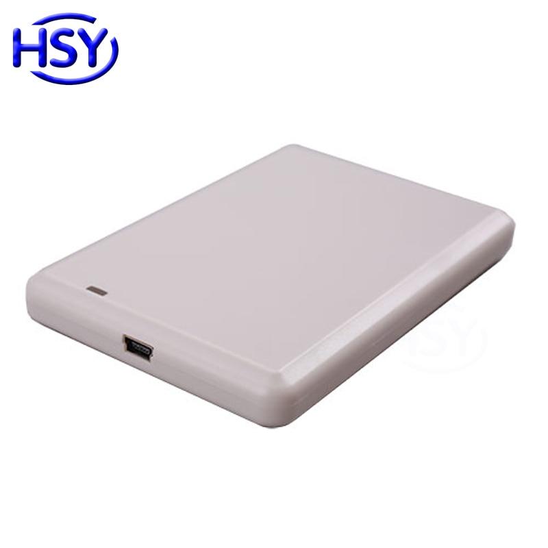 Lecteur de bureau USB RFID UHF EPC GEN2 ISO18000-6B/6C lecteur d'étiquette de carte à puce 860 Mhz ~ 960 Mhz avec logiciel de démonstration et SDK gratuit
