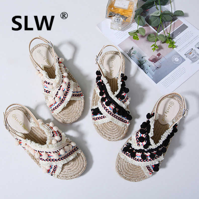 strappy heels Solid Color casual shoes summer sandals toe schoenen belt fastener mixed color tip binding assorted colors