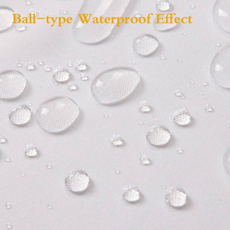 UFRIDAY Yeni Ağ Duş Perdesi Parça Polyester Otel Vanna otağı - Ev əşyaları - Fotoqrafiya 3