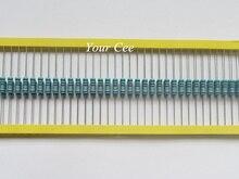 50 шт. RoHS Lead Free Металл Резистор 1 Вт Вт 75 К ом 75KR 1% Допуск Точности