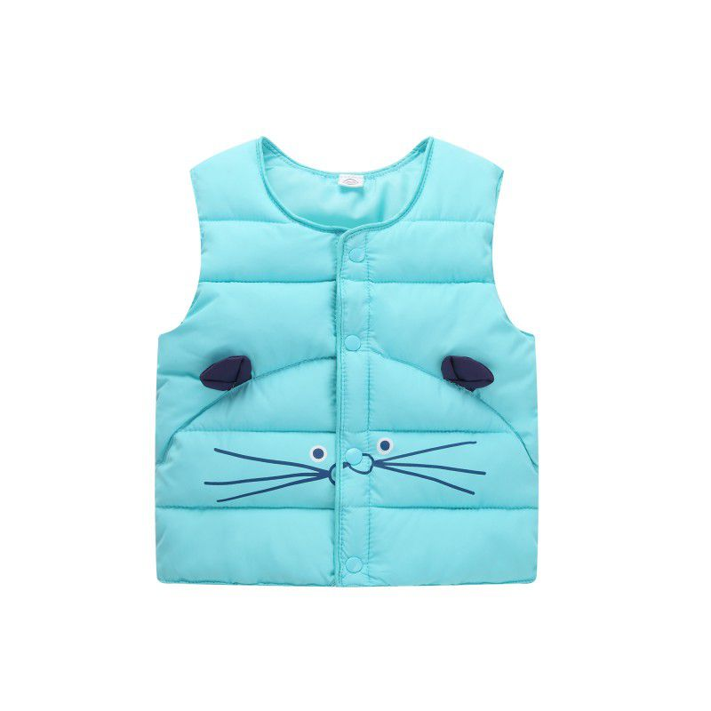 2017 Children of winter Autumn jacket child down from vest cotton vest outerwear winter baby girls boys vest