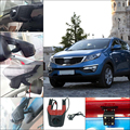 Car Wifi parking DVR For Kia Sportage Driving video recorder Dual lens Dash Cam Car Black Box Hidden installation Novatek 96658