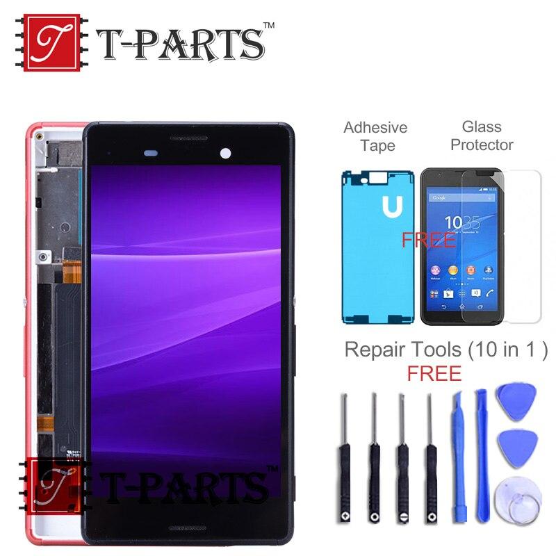 T-PARTS Nouveau 1280x720 TFT LCD Pour SONY Xperia M4 Aqua Unique SIM LCD Affichage E2303 E2306 E2353 E2312 e2333 Écran Tactile Digitizer