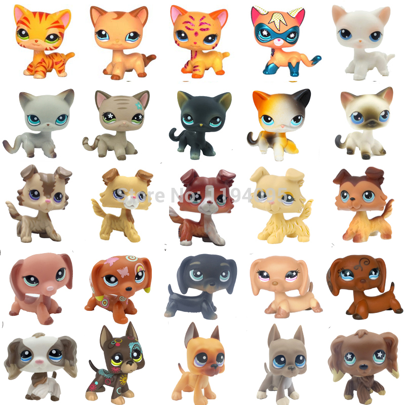 Real Pet Shop Lps Toys Collection Standing Short Hair Cat Old Rare