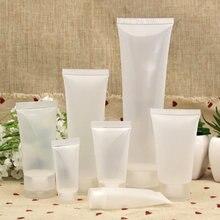 20/30/50/100 ml taşınabilir boş plastik tüp sıkılabilir şişe kozmetik krem losyon seyahat doldurulabilir konteyner makyaj