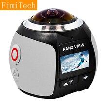 Мини 360 видео Камера 4 К Wi-Fi спорт действий Камера 16MP 3D VR Cam DVR мини Водонепроницаемый цифровой Камара видеокамера Депортива kamera