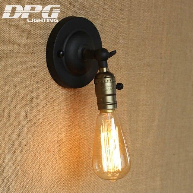Loft lumi¨re de mur intérieur Antique Applique Industrielle Vintage