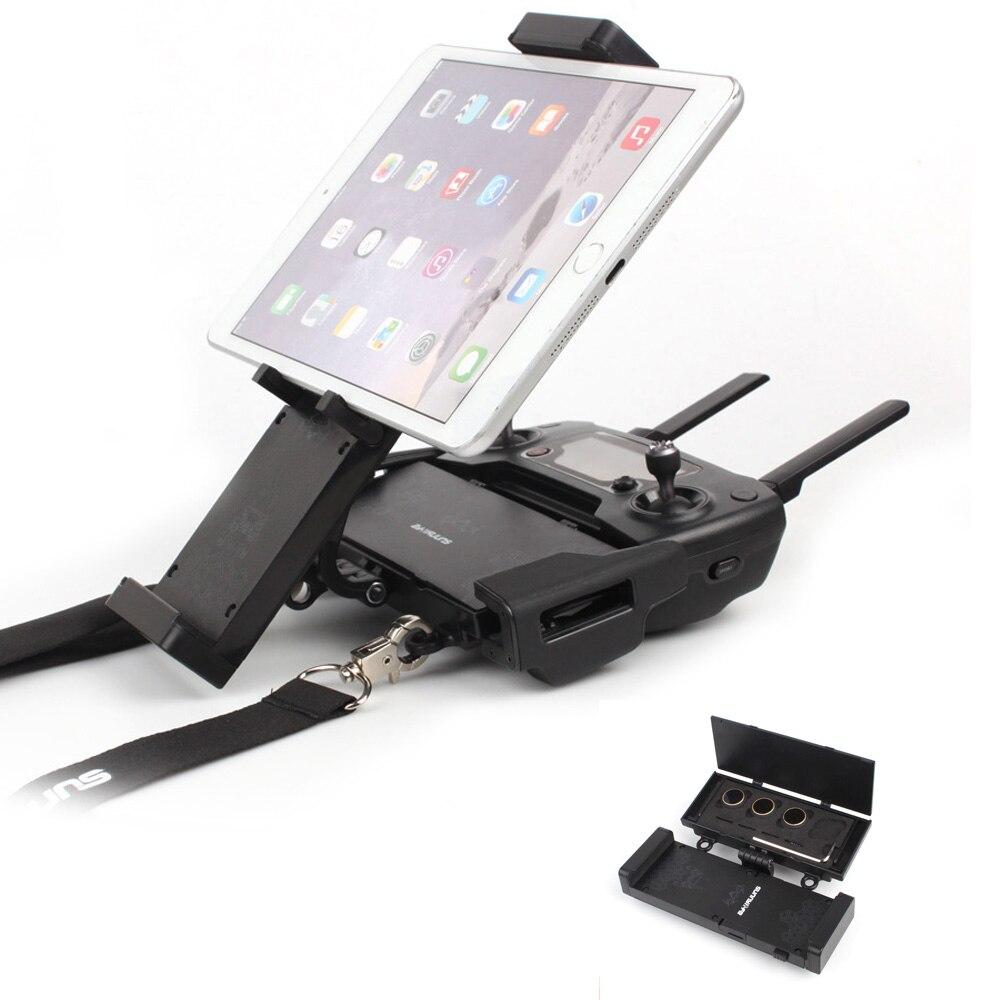 Sunnylife Remote Controller font b Smartphone b font Tablet Holder Bracket Foldable Extended Holder Multifunction for