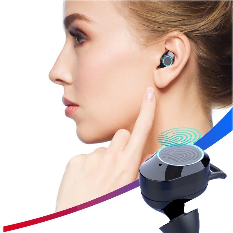 Kulaklik TWS Sports écouteurs IPX7 étanche X6 mise à niveau Bluetooth 5.0 sans fil écouteurs avec chargeur Bin 3300 mAh casques de jeu - 4