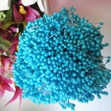 Топ 150 шт. искусственный цветок двойной головок тычинки перламутровые Craft карточек торты цветочный Декор для дома Свадебная вечеринка Декор