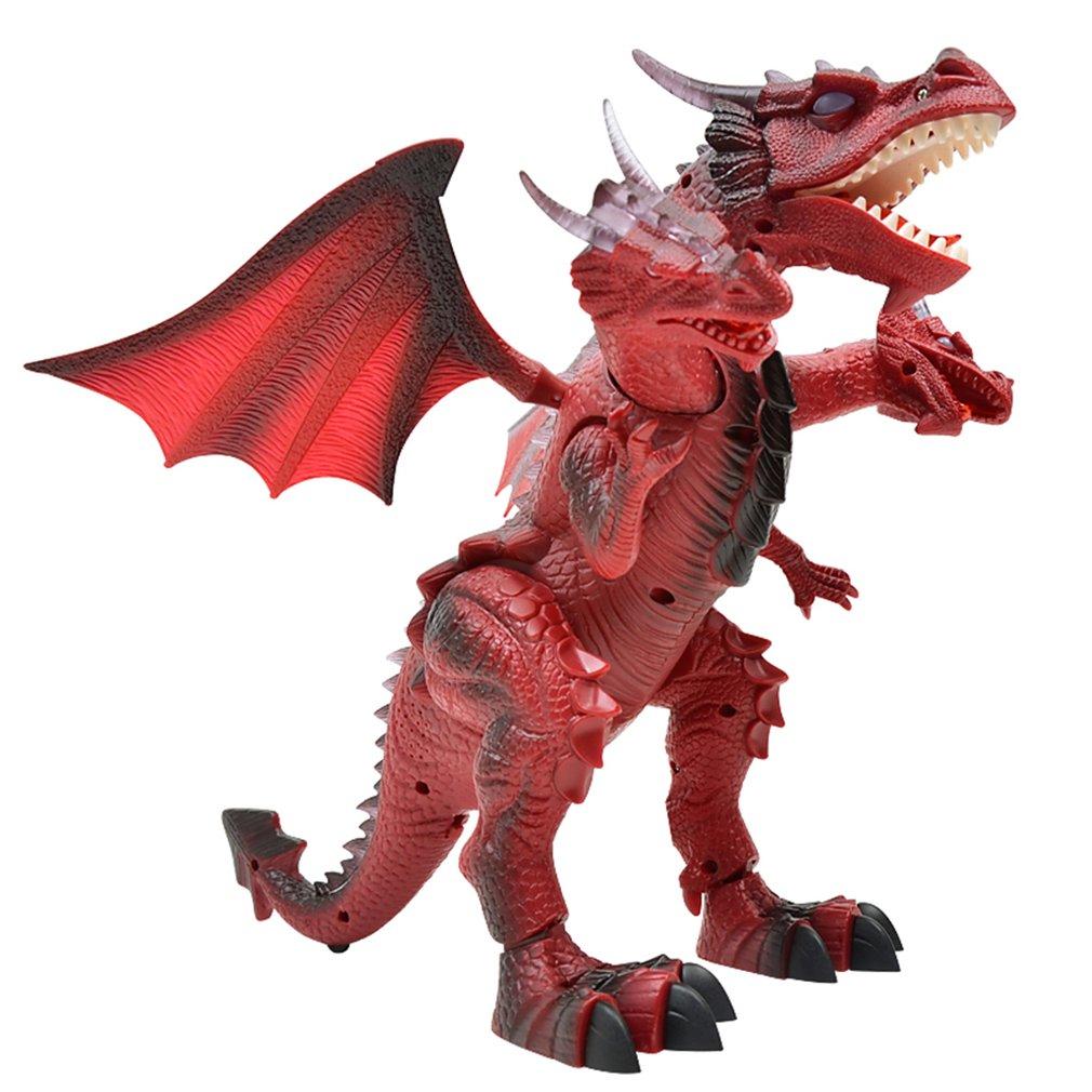 1 Stücke Fernbedienung Elektrische Dinosaurier Spielzeug Modell Pädagogisches Spielzeug Kreative Tragbare Umwelt Spielzeug Farbe Gelegentliche Anlieferung Diversifizierte Neueste Designs