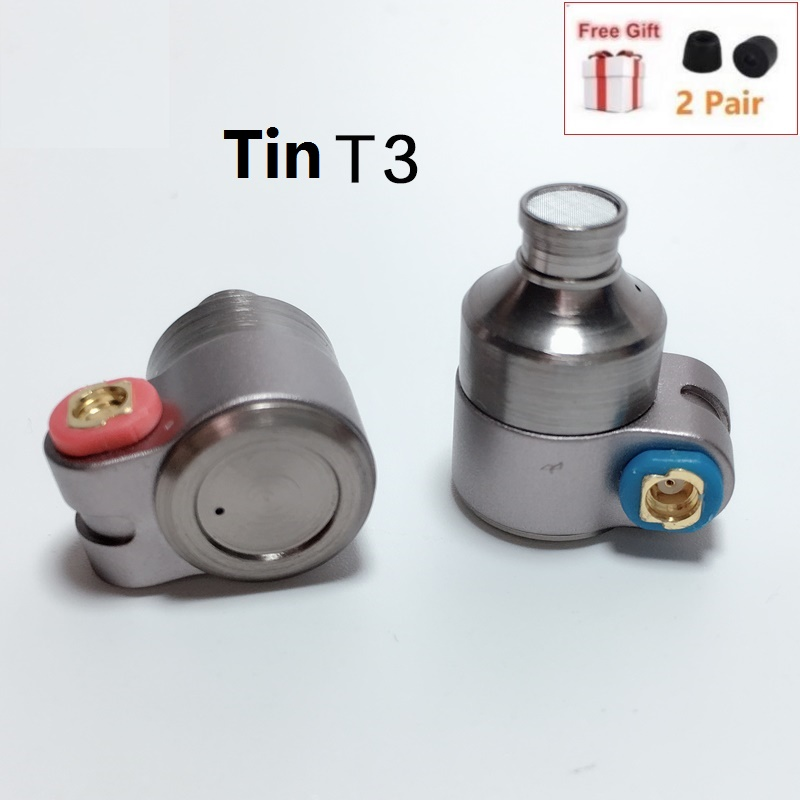 TinHIFI TIN Audio T3 in Ear Earphone 1DD 1BA Knowles Hybrid Drive HiFi Earphones Metal 3