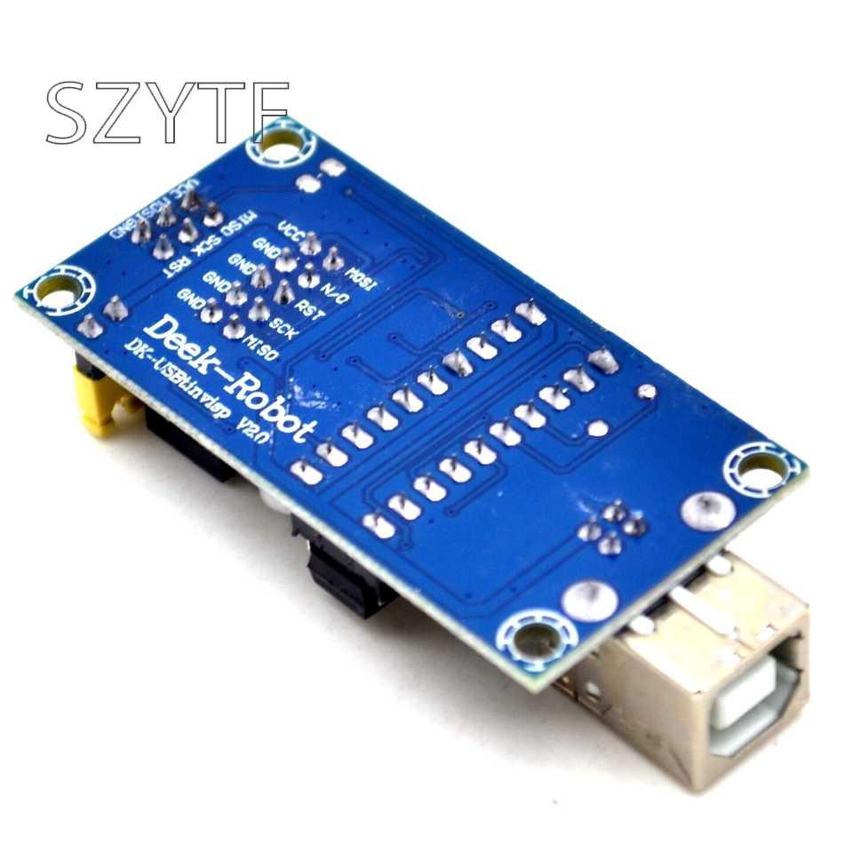 USBtinyISP AVR ISP программатор загрузчик для Arduino Meag2560 UNO R3 с 10pin Кабель для программирования