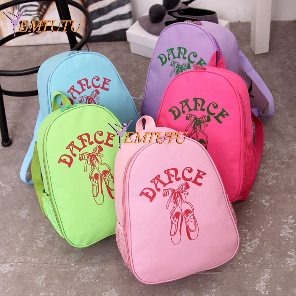 Free Shipping Waterproof Canvas Ballerina Dance Ballet Bags Backpack Pink Blue Toddler S Cute For Kids In From Novelty