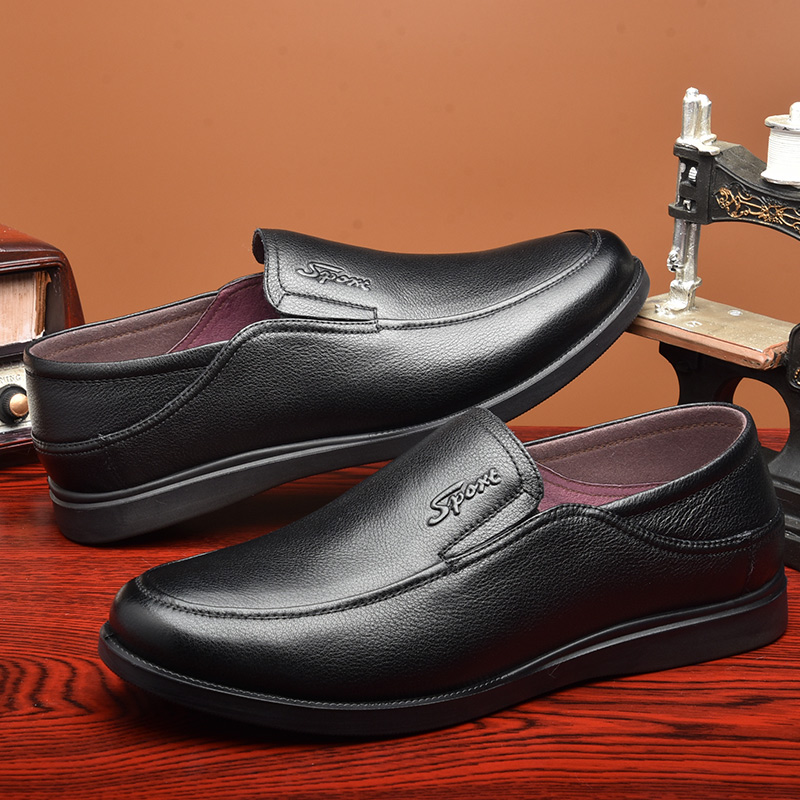 Sandálias Formal Slip Genuína Homens Osco Verão Masculino Flat s2040blk Negócios Respirável Oco S2040bl Casuais Sapatos Couro Masculinos on De 8F1FqZw