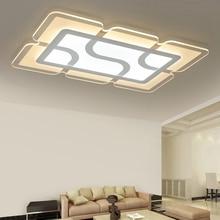 Eusolis 110 220v Ultra-thin Transparent Led Light Lamparas De Techo Colgante Plafon Crystal Lampe Plafoniere Moderne 35