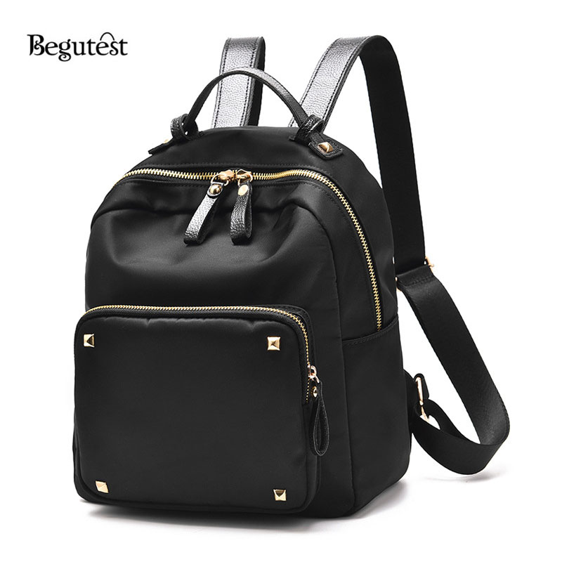 2017 Leather Backpacks Women Fashion Leisure Backpack For Women Shoulder Bags School Black Leather ackpacks For