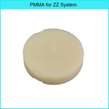 2pcs Dental ML PMMA compatible for ZZ CADCAM milling system