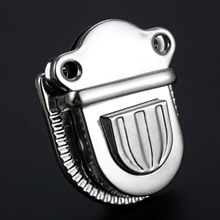 1Pc Antique Silver Bag Lock Clasp Jewelry Chest Gift Box Suitcase Buckles Hasp Latch Catch Furniture Hardware 57x45mm