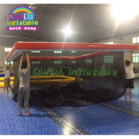 Giant Jellyfish Protection Floating Sea Pool inflatable netted swim pool for sale inflatable swimming pool