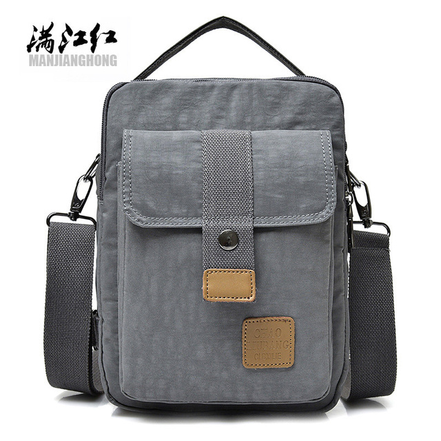 6c4b65c79153 MANJIANGHONG Men Messenger Bags Waterproof High Quality Oxford Cloth  Crossbody bag College Student School Portable Shoulder bag