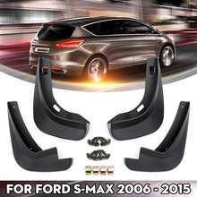 Araba çamur Flaps Ford s max için 2006 2007 2008 2009 2010 2011 2012 2013 2014 2015 çamurluklar Fender splash muhafızları çamurluklar