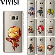 VIYISI Marvel Phone case For Samsung Galaxy s8 A5 2017 Case S9 Plus Cover J7 J5 J3 A3 2015 2016 S6 S7 Edge Coque Shell